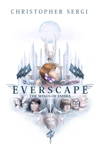 Everscape Book Cover 3 - Cream 360 pages