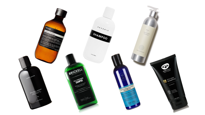 Vegan shampoos for men